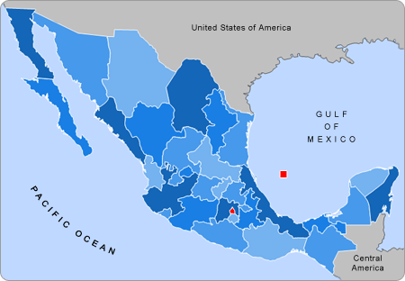 Mexico_states_map_small