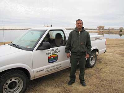Sumner Lake State Park Ranger, Paul
