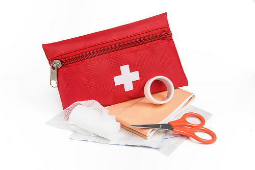 are your first aid supplies in order?