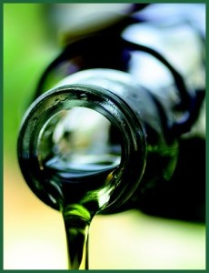 Drizzling Olive Oil