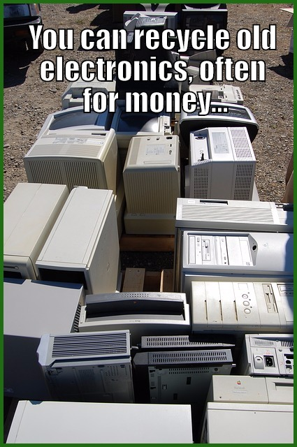 how to get rid of old computers for money