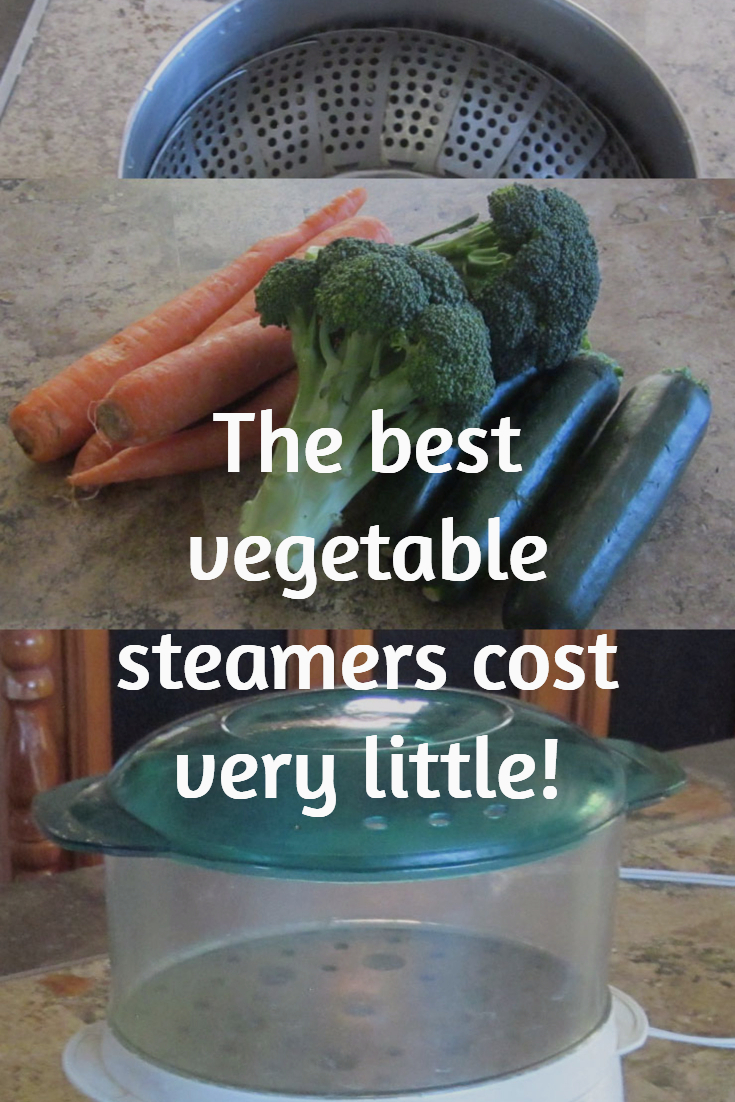 The best vegetable steamers cost very little.